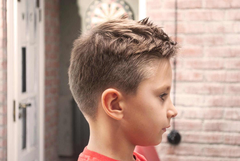 мужские стрижки - барбершоп фото - детские стрижки 18