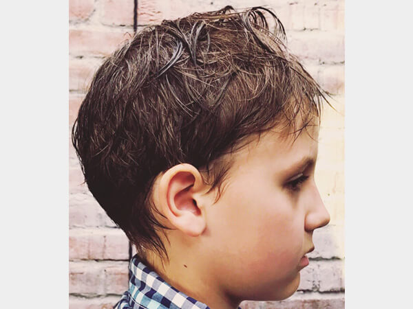 Барбершоп фото - детская стрижка 7