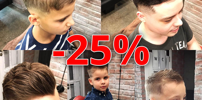 headshot барбершоп СКИДКИ стуентам и школьникам 25%