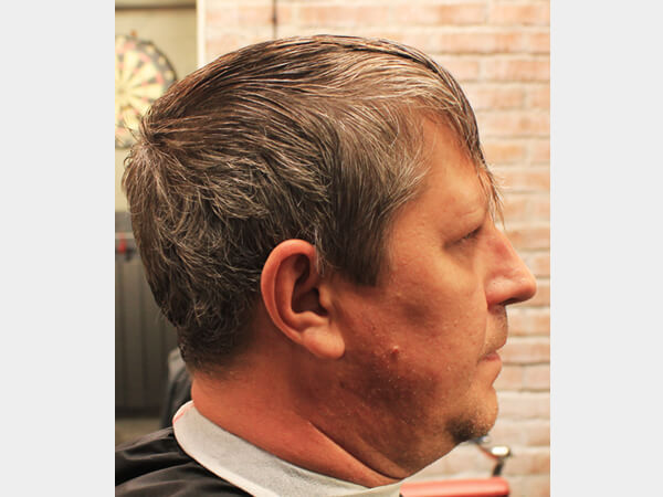 Барбершоп HEADSHOT фото - мужская стрижка 1