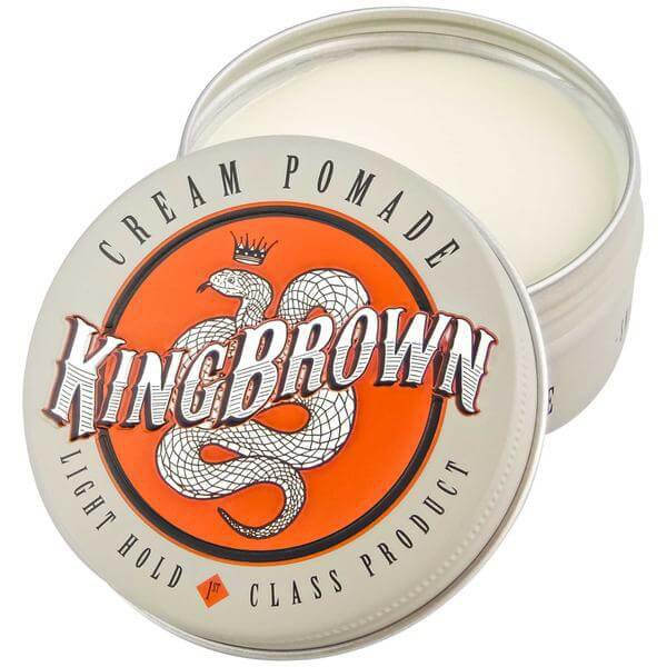King Brown Cream Pomade - Крем-помада для укладки 75 гр