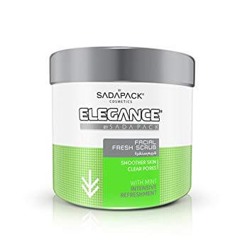 Elegance Facial Scrub Mint Intensive Refreshment - Скраб для лица Мята Освежающий 500 мл