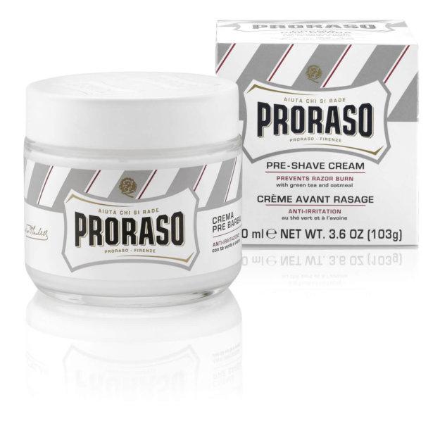Proraso Италия - Крем До бритья Зелёный Чай и Овёс 100 мл