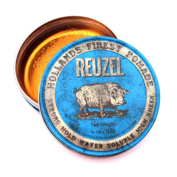 Reuzel Strong Hold High Sheen Pomade (Нидерланды,США) - Помада для укладки волос сильной фиксации с эффектом блеска 35/113 гр