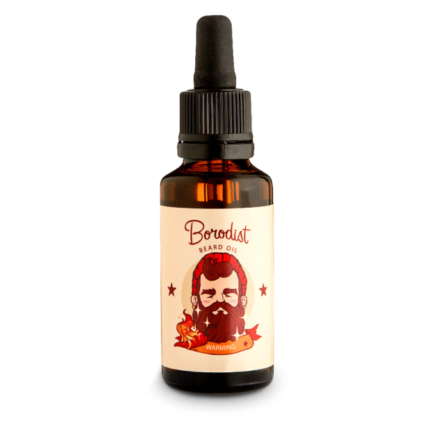 Borodist Beard Warming Oil - Масло для бороды Warming 30 мл