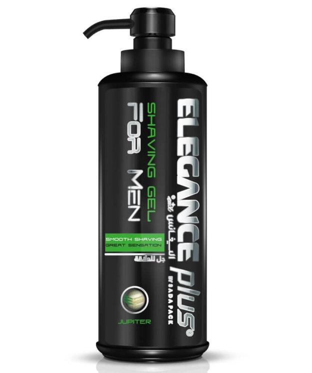 Elegance Plus Shaving Gel Jupiter - Гель для бритья 500 мл