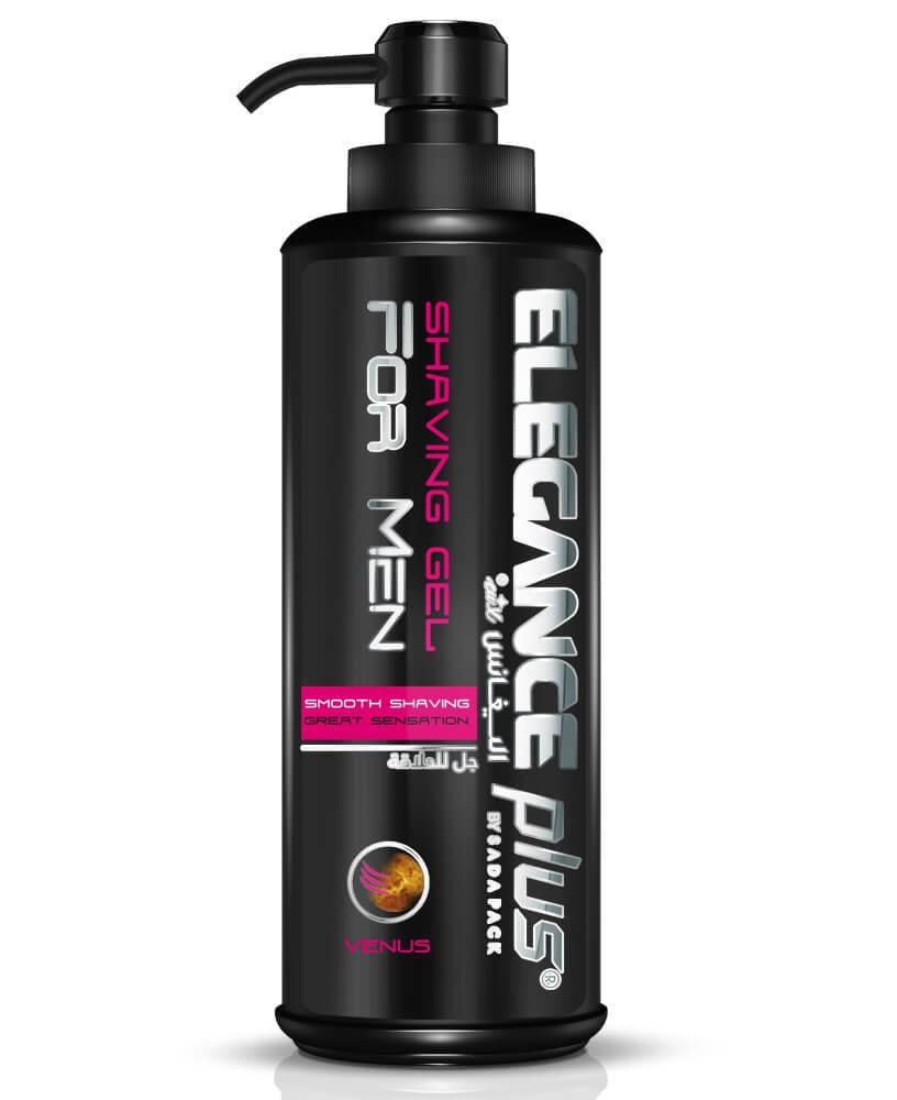 Elegance Plus Shaving Gel Venus - Гель для бритья 500 мл