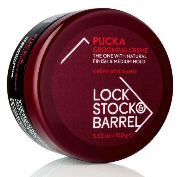 Lock Stock & Barrel Pucka Grooming Creme - Первоклассный Груминг-крем для создания гибкой текстуры и объема, 100 гр