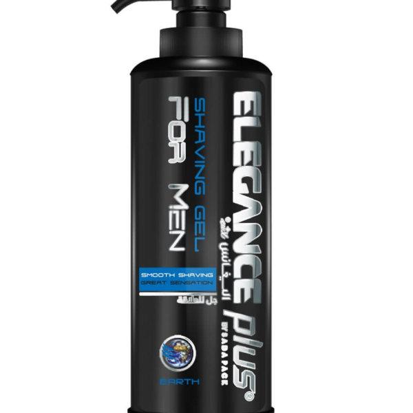 Elegance Plus Shaving Gel Earth - Гель для бритья 500 мл