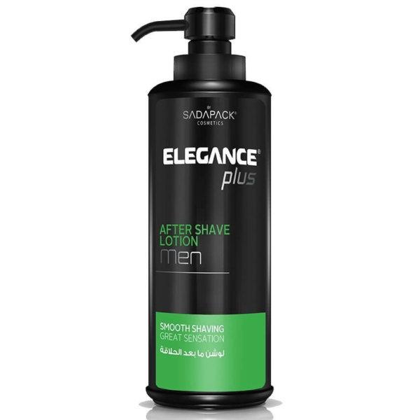 Elegance Plus After Shave Soothes Irritation - Лосьон после бритья Снимающий Раздражение 500 мл