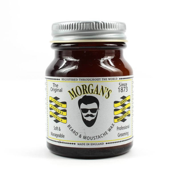 Morgan's Beard & Moustache Wax (Великобритания) -Воск для укладки бороды и усов 50 гр