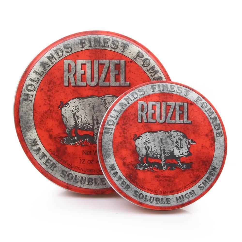 Reuzel High Sheen Pomade (Нидерланды,США) - Помада для укладки волос с эффектом мокрых волос 35/113 гр