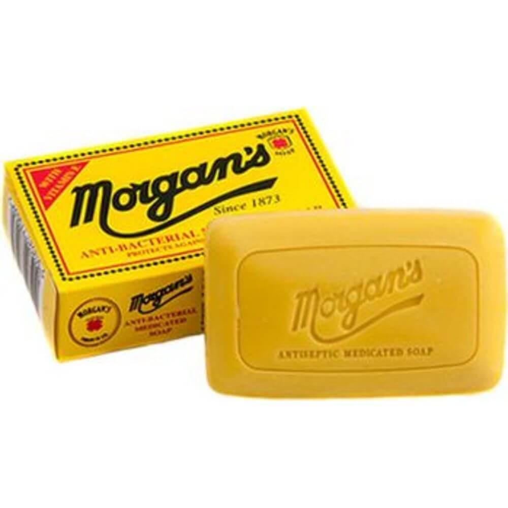 Morgan's Soap (Великобритания)- Антибактериальное лечебное мыло 80 гр