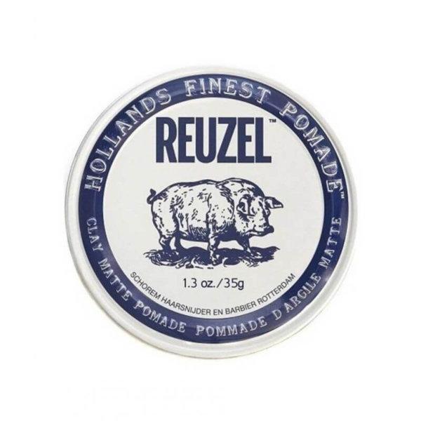 Reuzel Clay Matte Pomade (Нидерланды,США) - Матовая помада для укладки волос 35/113 гр