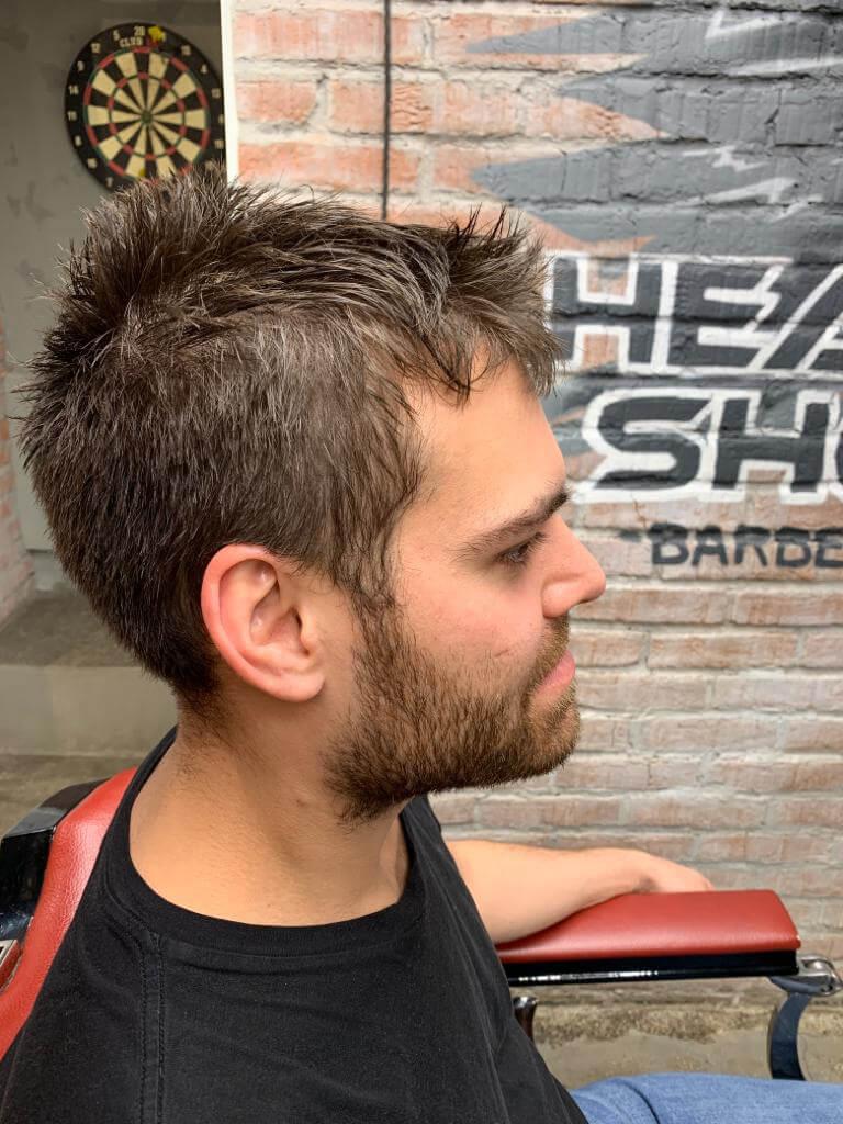 барбершоп HEADSHOT фото — мужские стрижки 276