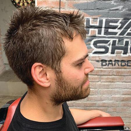 барбершоп HEADSHOT фото — мужские стрижки 275